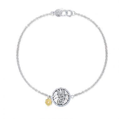 Tacori Sterling Silver Love Letters Diamond Women's Bracelet