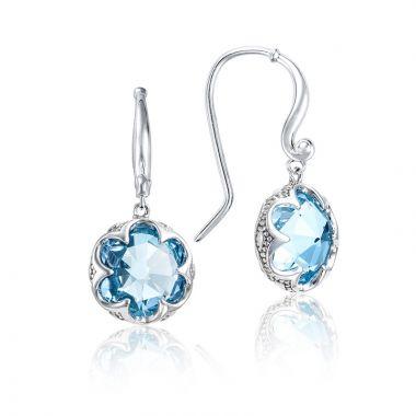 Tacori Sterling Silver Sonoma Drop Gemstone Earring