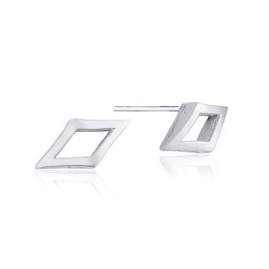 Tacori Sterling Silver The Ivy Lane Stud Earring