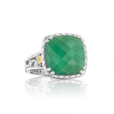 Tacori Silver Crescent Ceiling Gemstone Ring