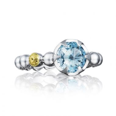 Tacori Sterling Silver Sonoma Skies Gemstone Men's Ring