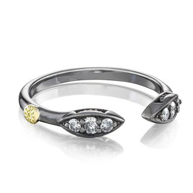 Tacori Sterling Silver The Ivy Lane Diamond Men's Ring