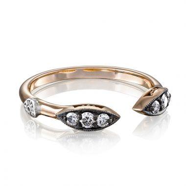 Tacori Sterling Silver & 18k Rose GoldThe Ivy Lane Diamond Men's Ring