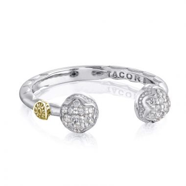 Tacori Sterling Silver Sonoma Mist Diamond Men's Ring