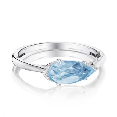 Tacori Sterling Silver Horizon Shine Diamond and Gemstone Men's Ring