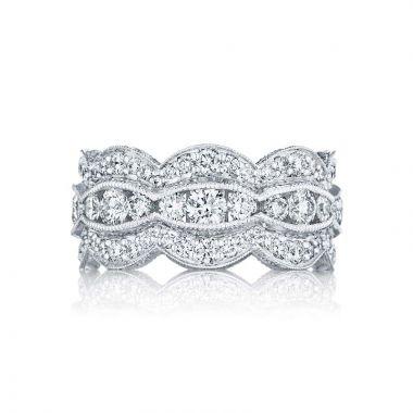 Tacori Platinum Adoration Diamond Wedding Band
