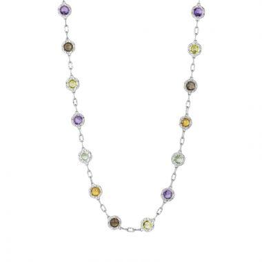 Tacori Gum Drop Necklace featuring Assorted Gemstones
